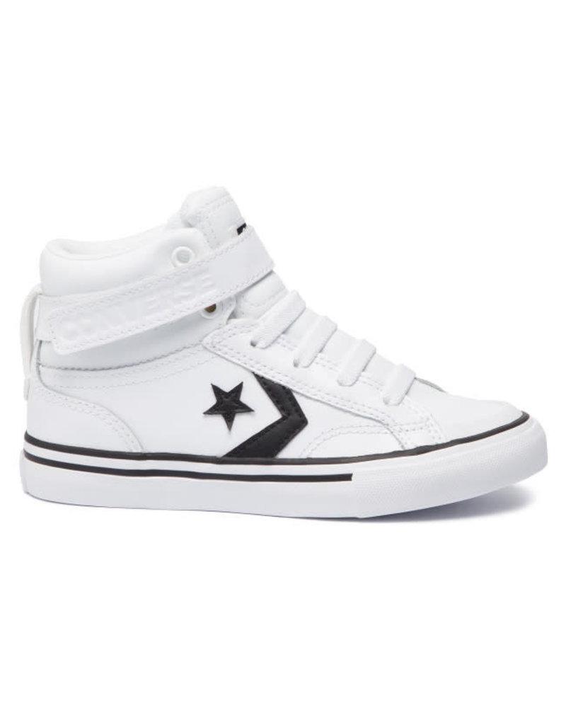 CONVERSE PRO BLAZE STRAP HI WHITE/BLACK/WHITE 663605C-CCZ88WB