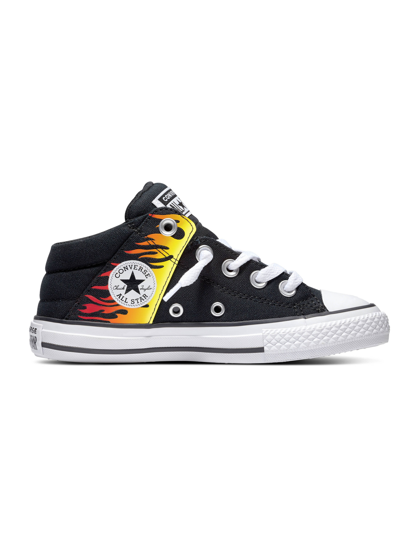 CONVERSE CHUCK TAYLOR ALL STAR AXEL MID BLACK/FRESH YELLOW CZMFLA-666299C