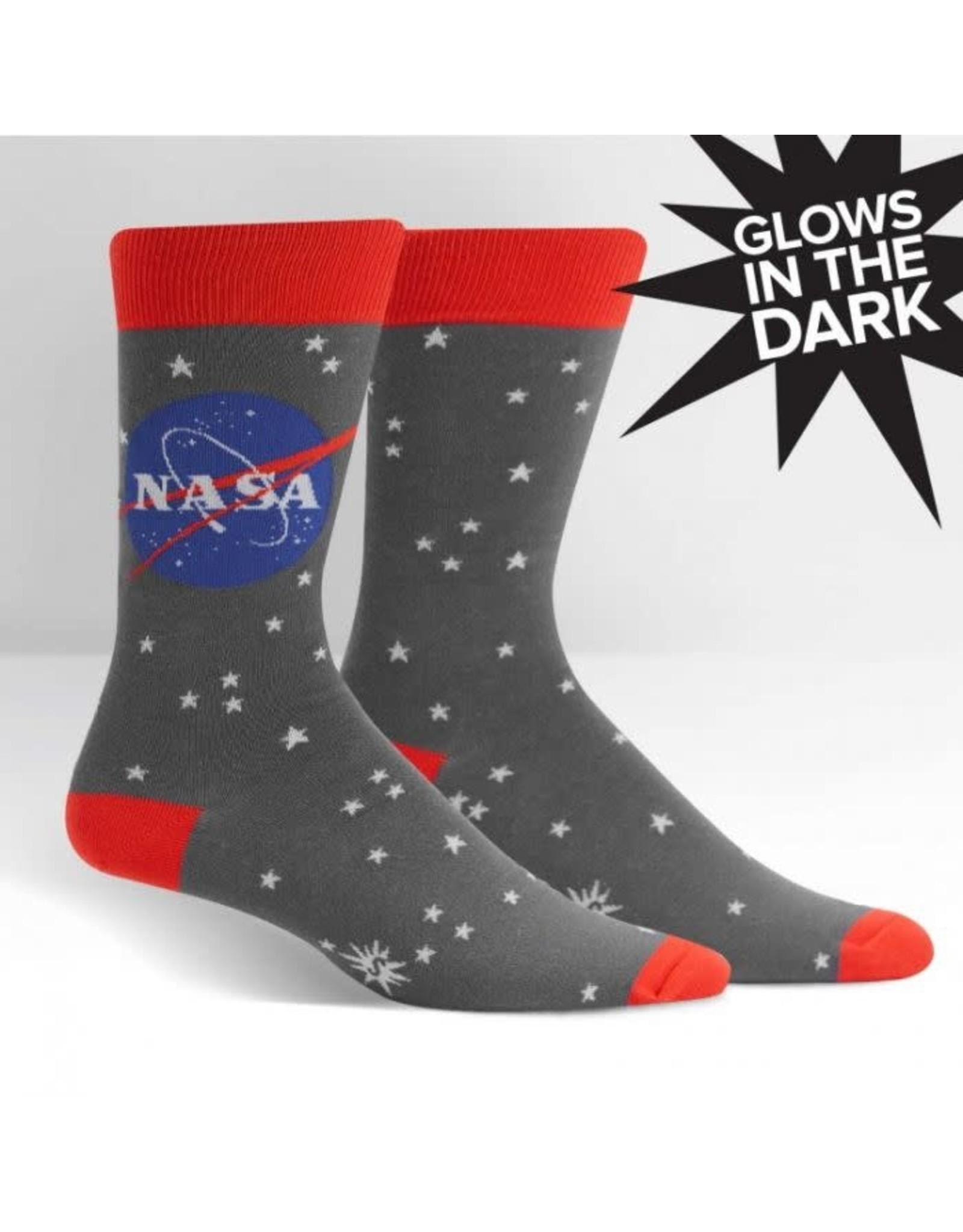 SOCK IT TO ME - Men's NASA Stargazer Crew Socks