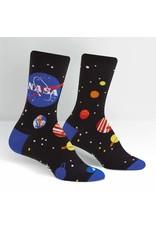 SOCK IT TO ME - Men's NASA Solar System Crew Socks