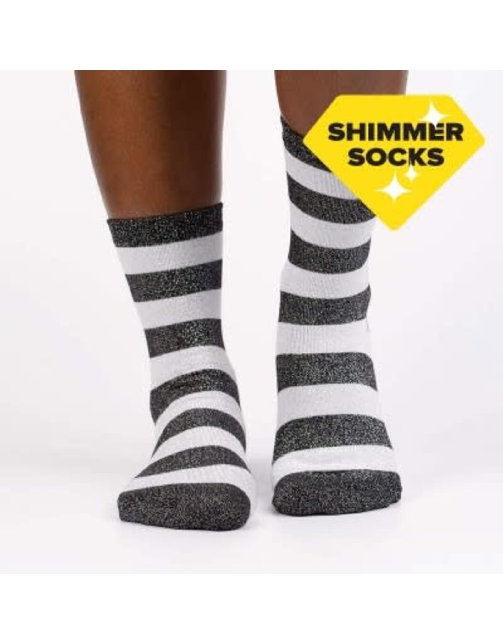 SOCK IT TO ME - Women's Puttin' On The Glitz Crew Socks