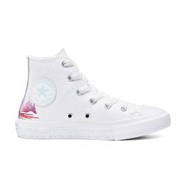 CONVERSE CHUCK TAYLOR ALL STAR HI FROZEN 2 WHITE/MULTI/WHITE CZFZ-367353C