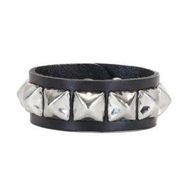 FUNKPLUS - Bracelet 1 Row Big Silver Stud