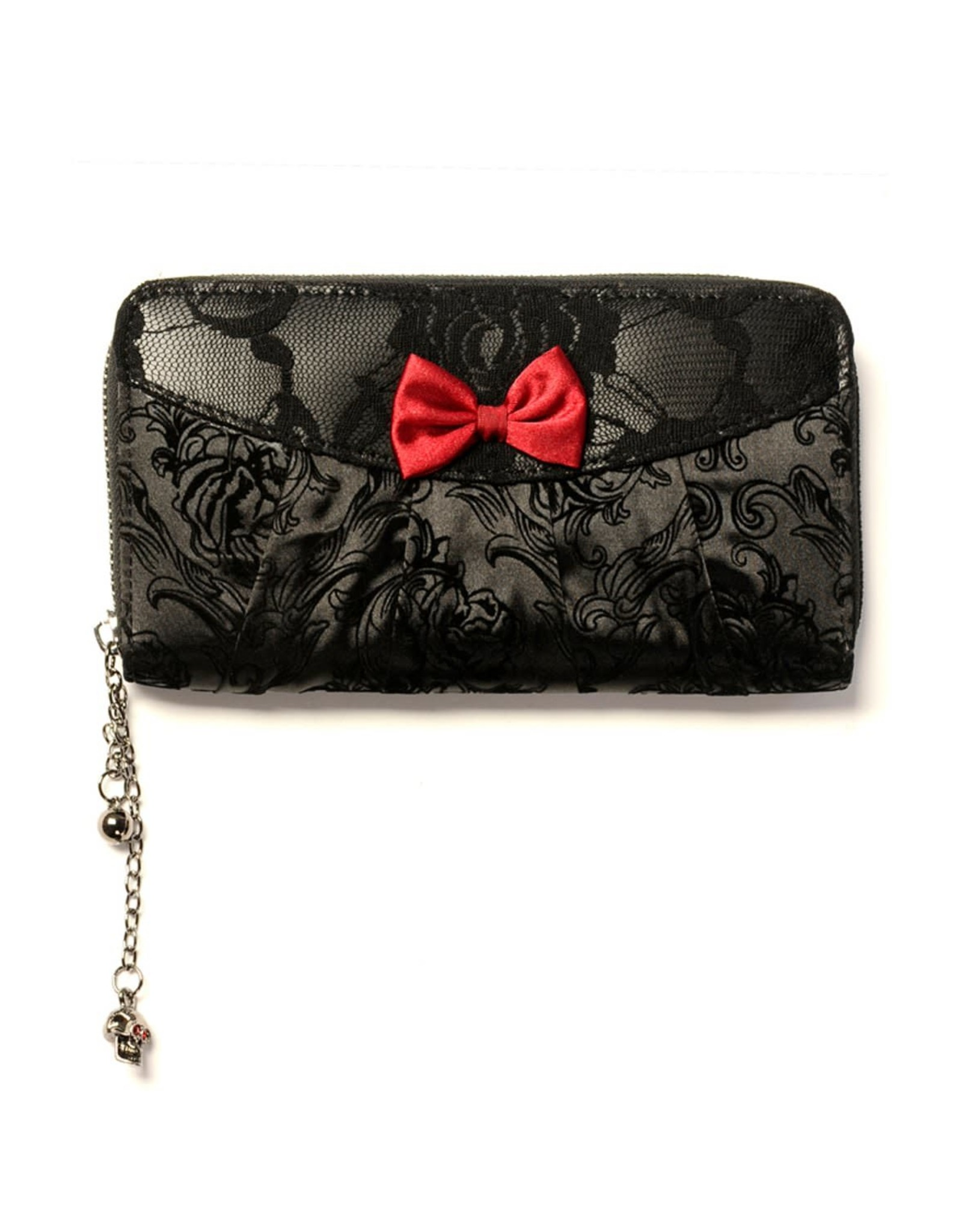 BANNED - Ivy Black Lace Wallet