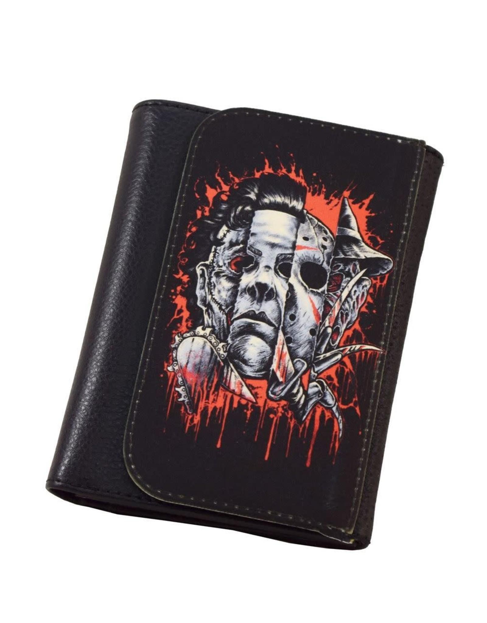 DARKSIDE - Mens Faces Of Horror Wallet