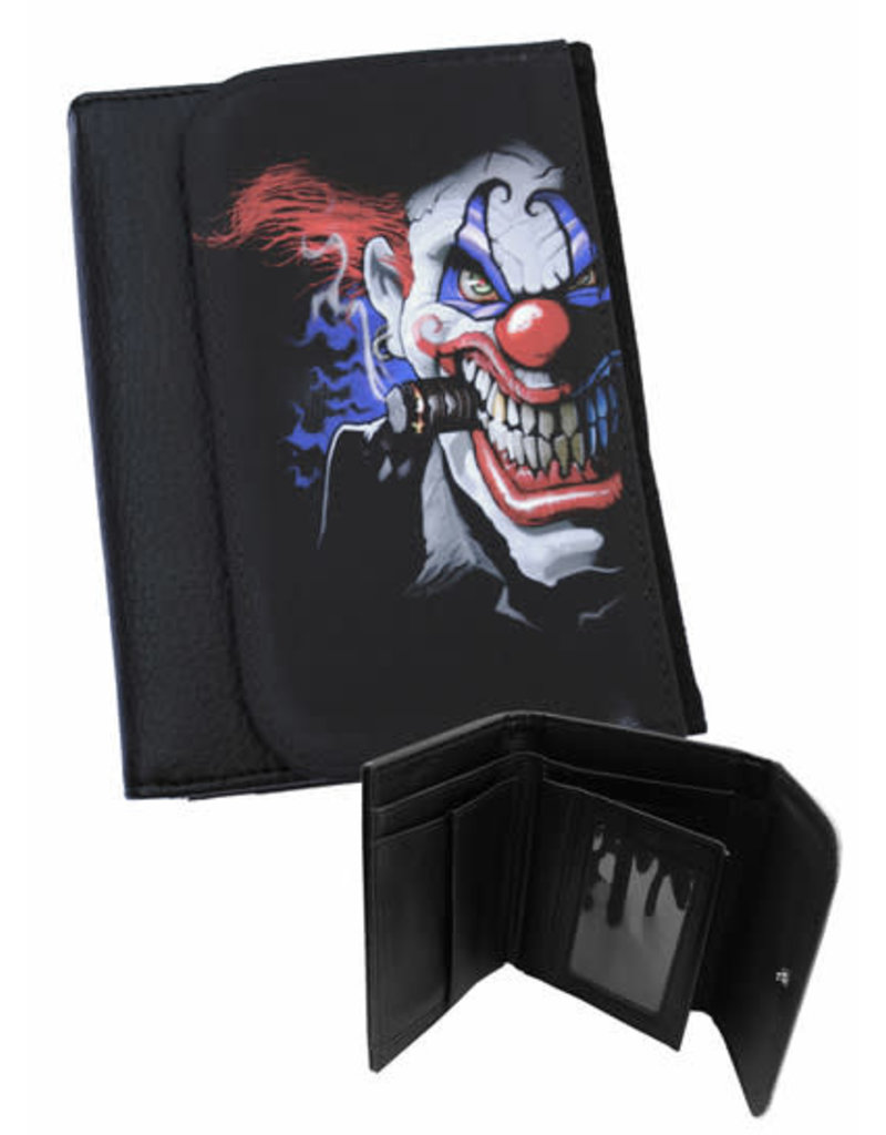 DARKSIDE - Mens Evil Clown Wallet