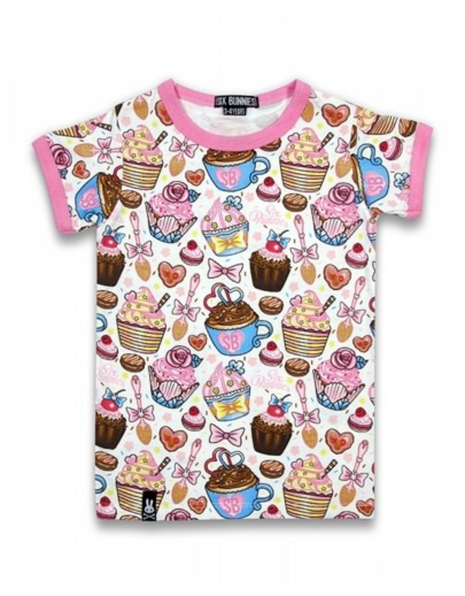 SIX BUNNIES - Cupcakes Tee