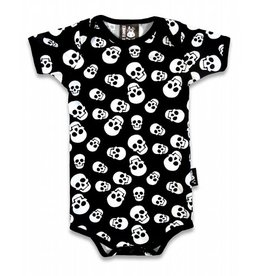 SIX BUNNIES - Polka Skulls One-Piece