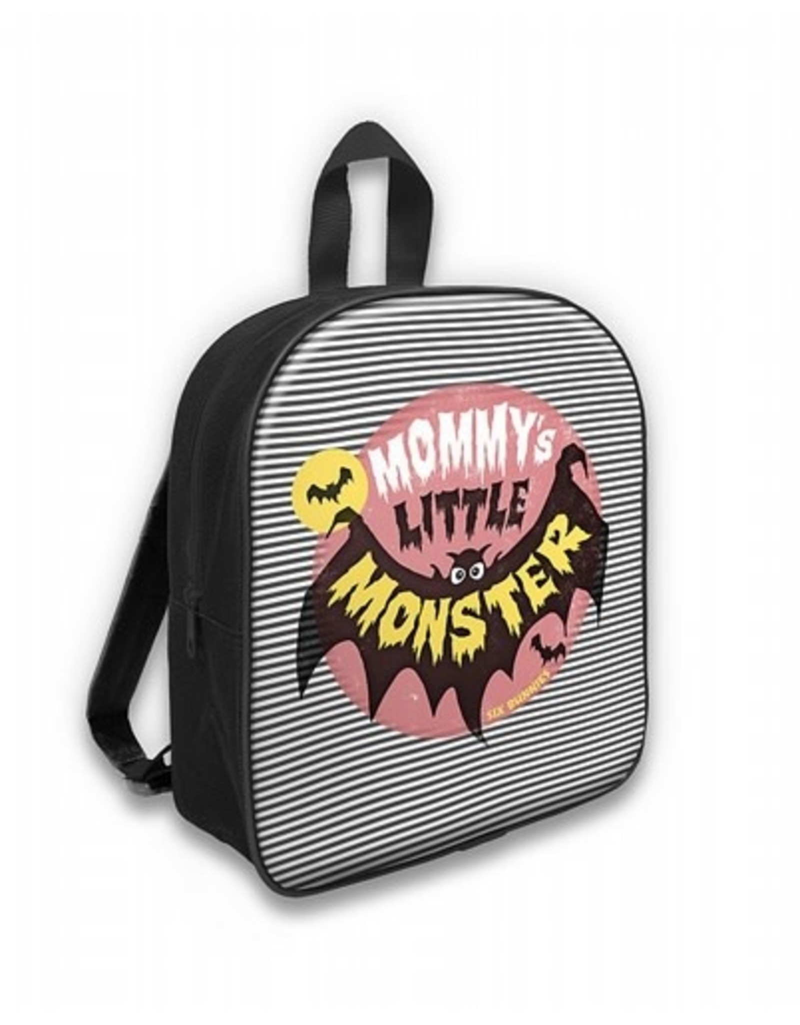 SIX BUNNIES - Mommy's Monster Striped Backpack