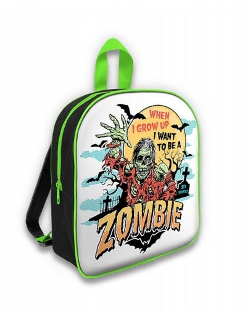 SIX BUNNIES - Zombie Green Backpack