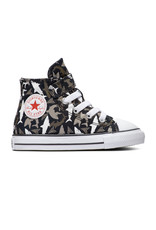 CONVERSE CHUCK TAYLOR ALL STAR  1V HI BLACK/UNIVERSITY RED/WHITE CLREQ-766889C