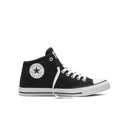 CONVERSE Chuck Taylor All Star  HIGH STREET HI BLACK BLACK WHITE C698BB-151041C