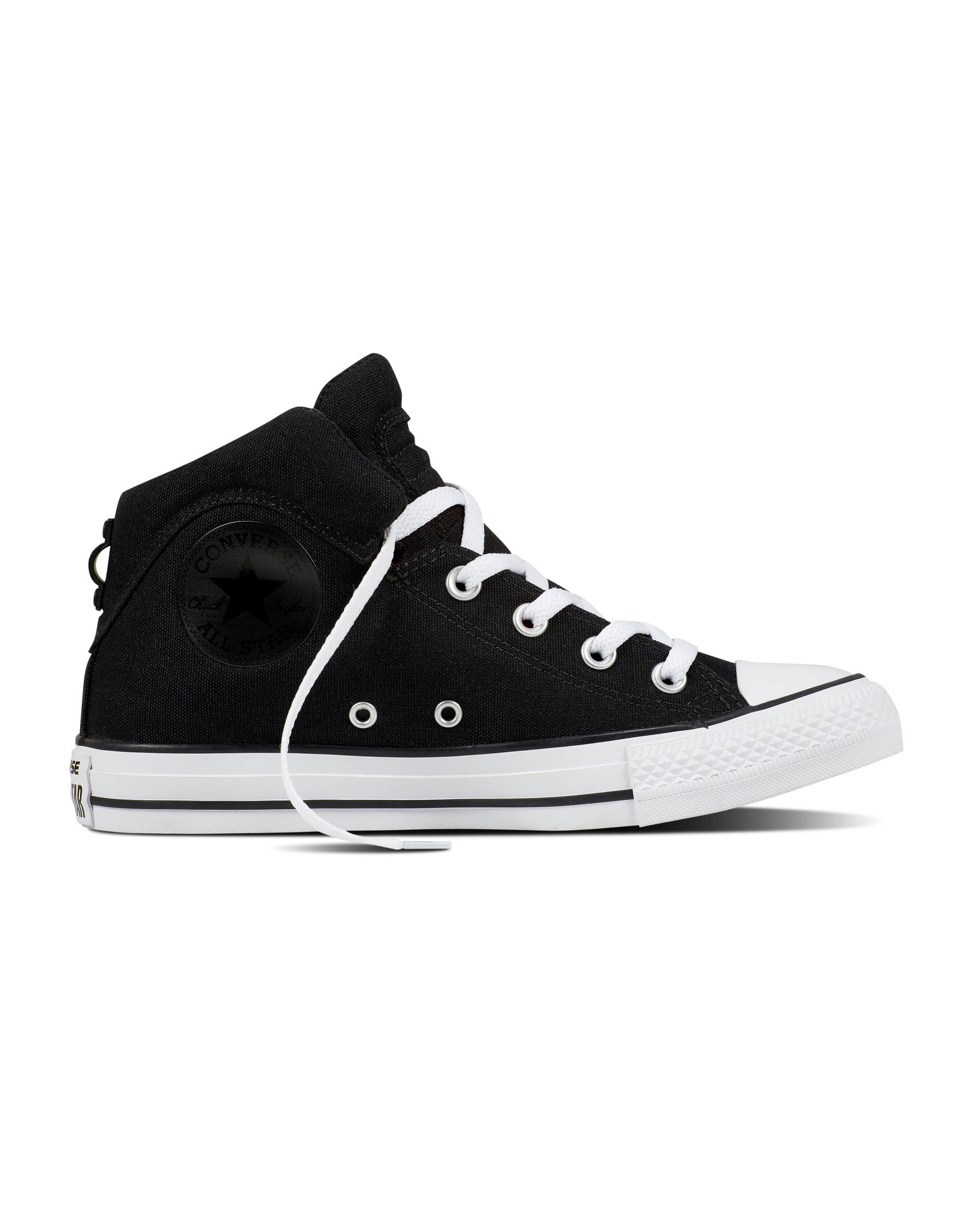CONVERSE CHUCK TAYLOR BROOKLINE MID BLACK/BLACK/WHITE C798BKB-557955C
