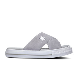 CONVERSE ONE STAR SANDAL SLIP DOLPHIN/EGRET/WHITE C987SD-564148C