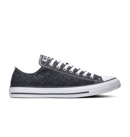CHUCK TAYLOR ALL STAR  OX BLACK/THUNDER GREY/WHITE C14LOG-166987C
