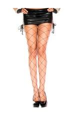 MUSIC LEGS - Big Net Spandex Pantyhose