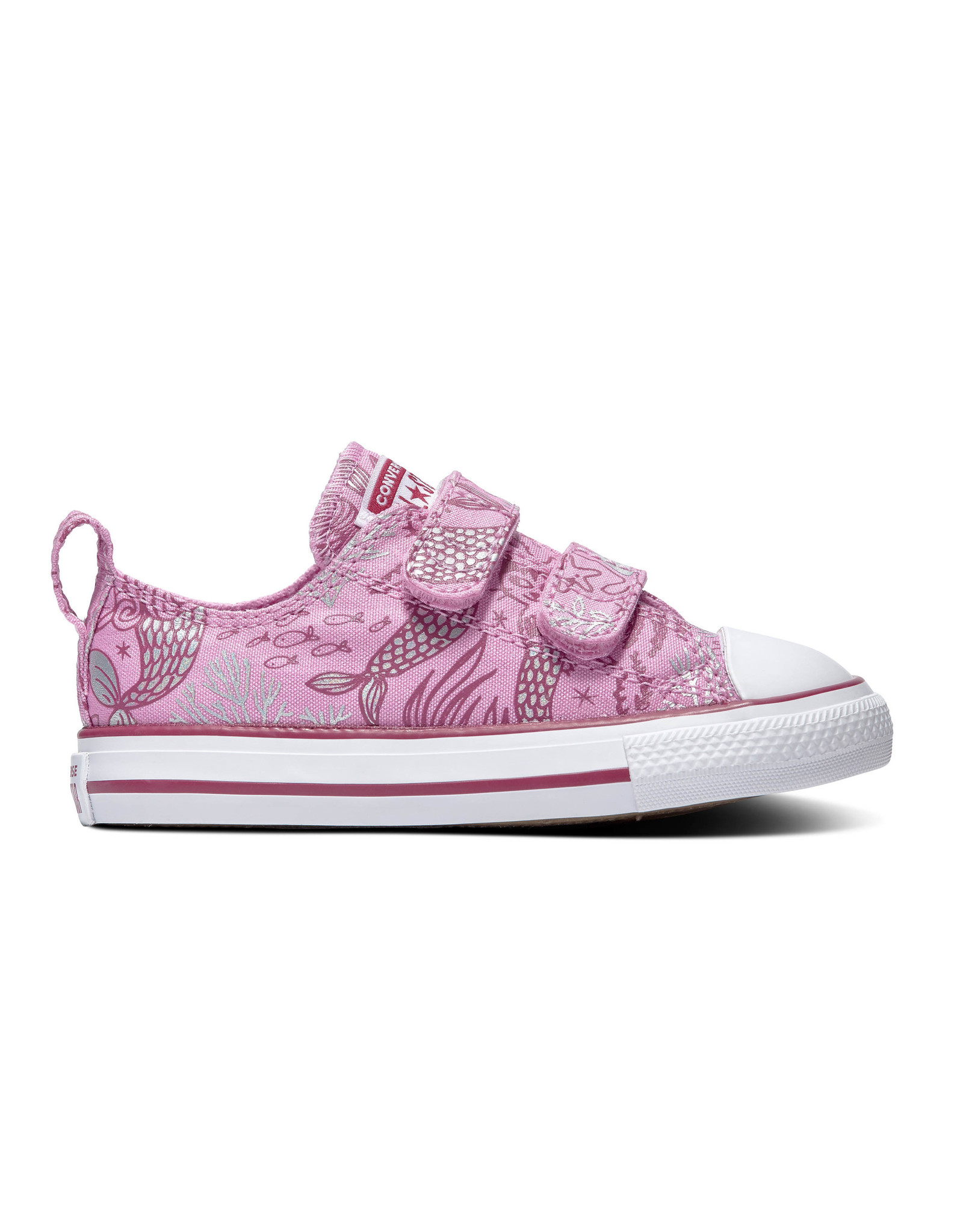 CONVERSE CHUCK TAYLOR ALL STAR  2V OX PEONY PINK/ROSE MAROON/WHITE CLSIR-767205C