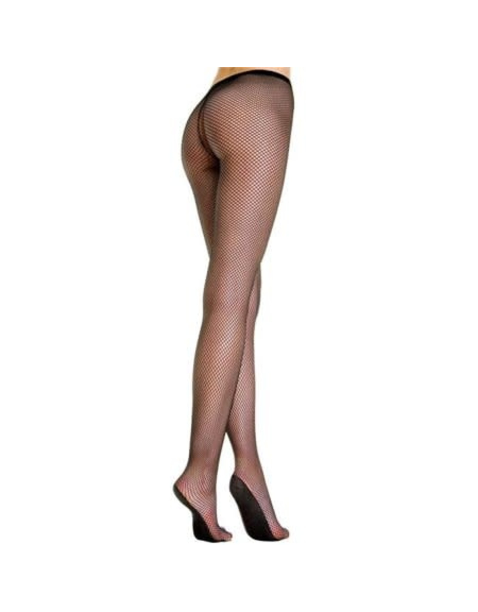 MUSIC LEGS - Spandex Fishnet Pantyhose Enforce Sole