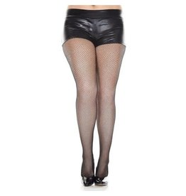 MUSIC LEGS - Plus Size Fishnet Seamless Spandex Pantyhose