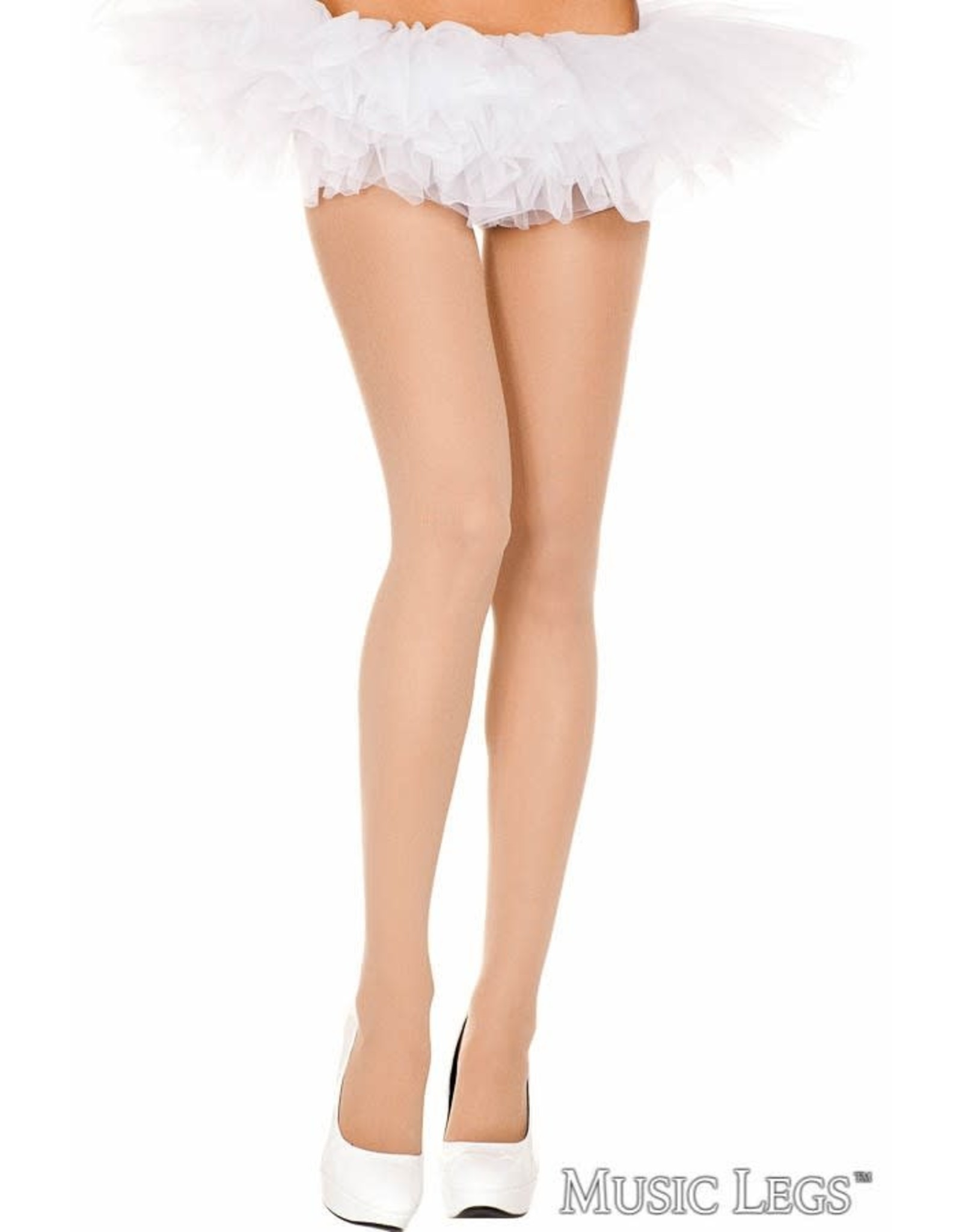 MUSIC LEGS - Plus Size Beige Opaque Tights