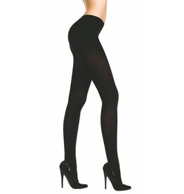 MUSIC LEGS - Black Opaque Tights