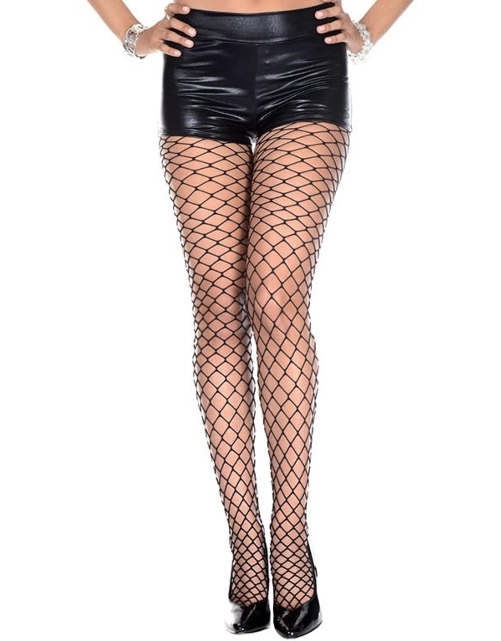 MUSIC LEGS - Thick  Diamond Net Pantyhose