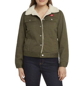 Dickies Girl Sherpa Lined Twill Jacket J4008