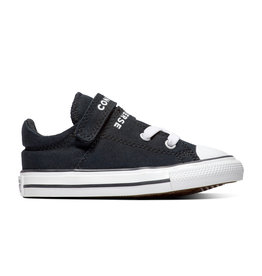 CONVERSE CHUCK TAYLOR ALL STAR  DOUBLE STRAP OX BLACK/BLACK/WHITE CLDOB-766932C
