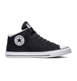 CONVERSE CHUCK TAYLOR ALL STAR  HIGH STREET MID BLACK/WHITE/BLACK C098B-166946C