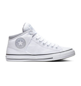 CHUCK TAYLOR ALL STAR  HIGH STREET MID WHITE/WOLF GREY C098W-166947C