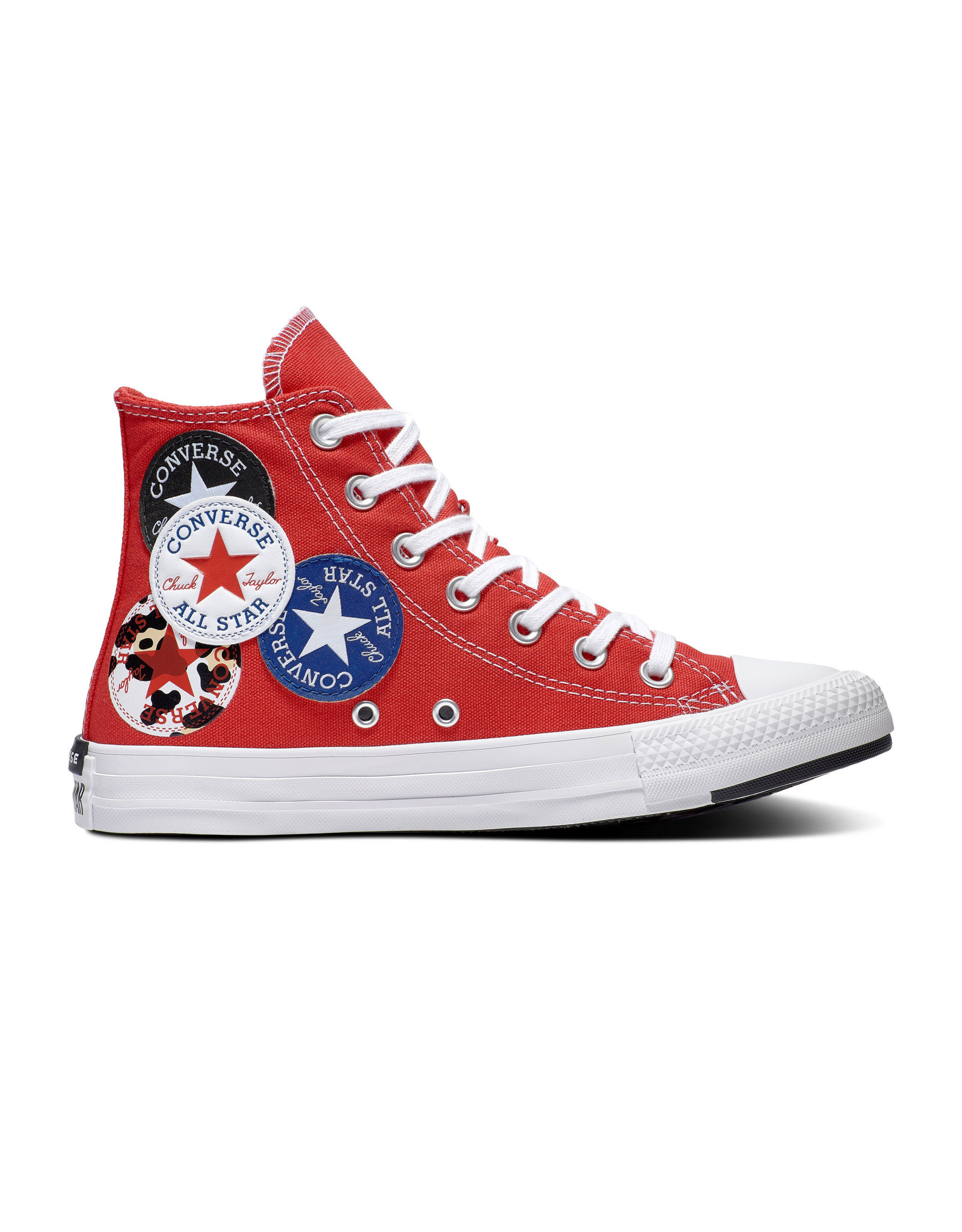 CONVERSE CHUCK TAYLOR ALL STAR  HI UNIVERSITY RED/BLACK/RUSH BLUE C20LOR-166736C