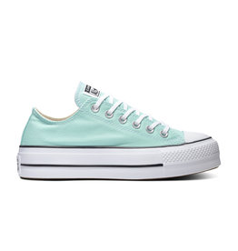 CONVERSE CHUCK TAYLOR ALL STAR  LIFT OX OCEAN MINT/WHITE/BLACK C14POM-566758C