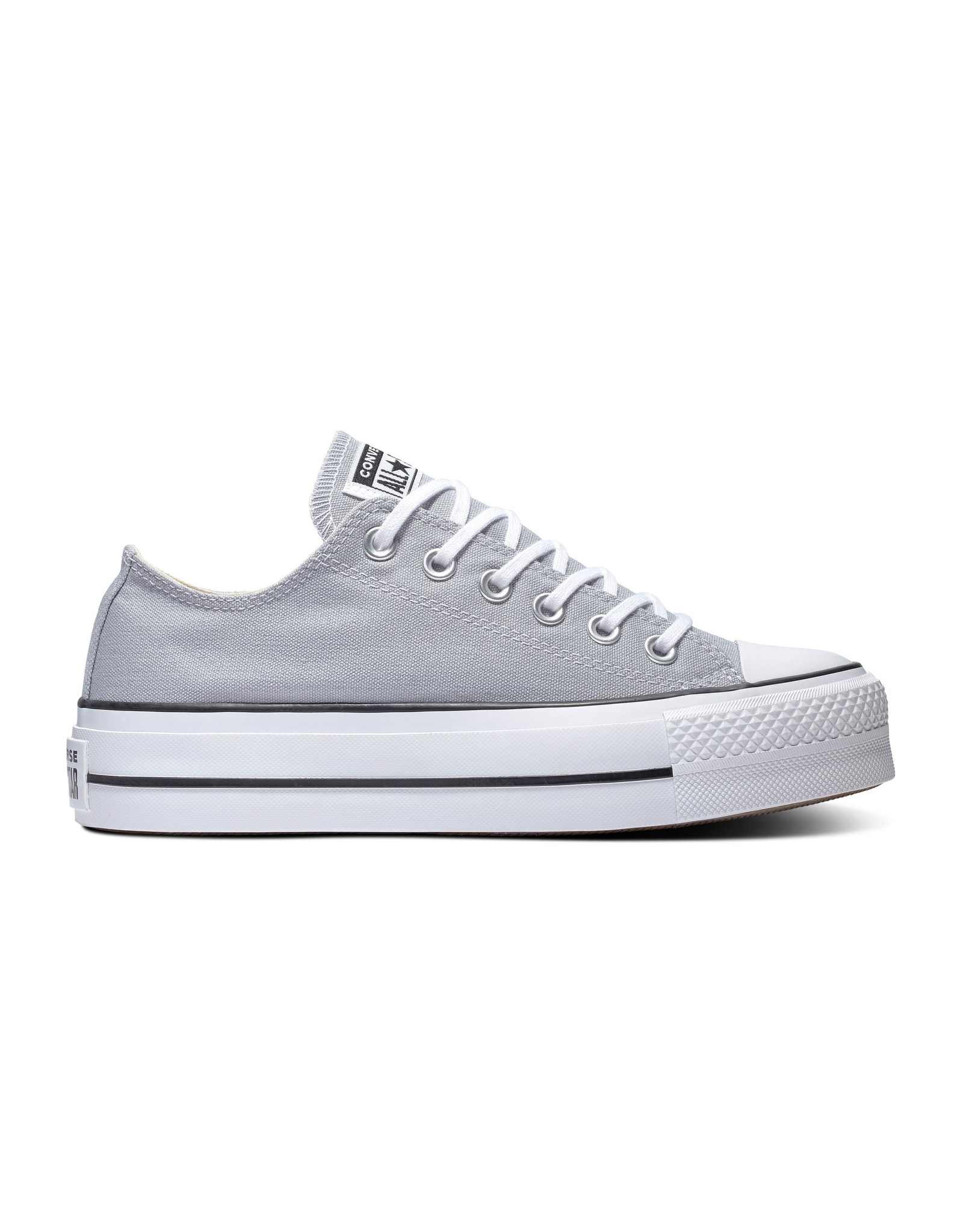 CONVERSE CHUCK TAYLOR ALL STAR  LIFT OX WOLF GREY/WHITE/BLACK C14PWOG-566757C