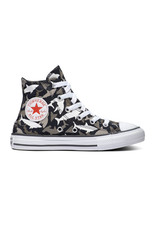 CONVERSE CHUCK TAYLOR ALL STAR  HI BLACK/UNIVERSITY RED/WHITE CAREQ-666888C