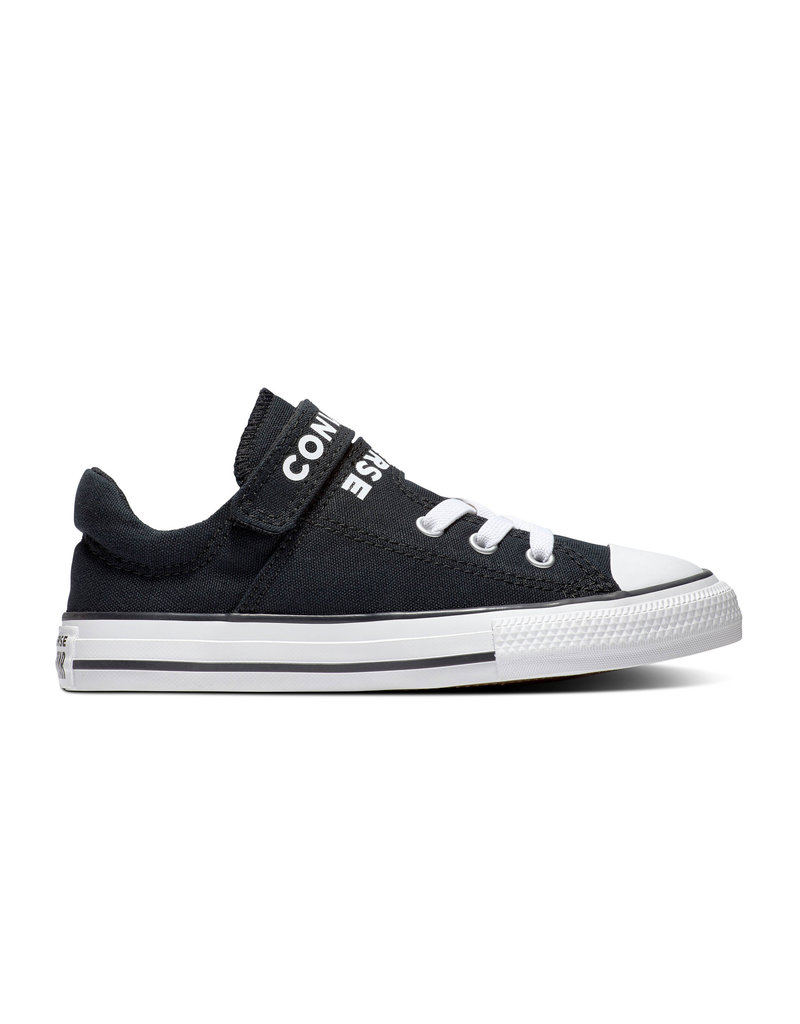 CONVERSE CHUCK TAYLOR ALL STAR  DOUBLE STRAP OX BLACK/BLACK/WHITE CADOB-666928C