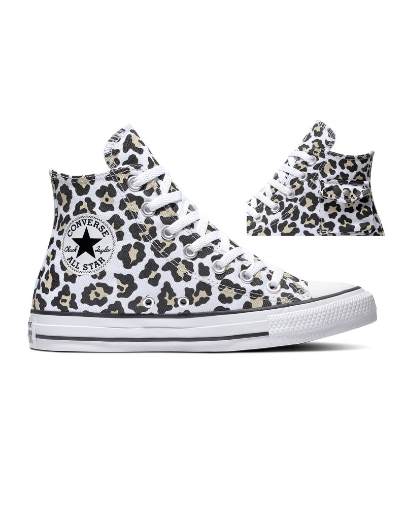 CHUCK TAYLOR ALL STAR  POCKET HI WHITE/BLACK/DESERT ORE C20PLEO-167086C