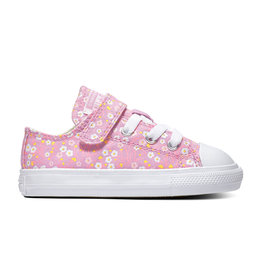 CONVERSE CHUCK TAYLOR ALL STAR  1V OX PEONY PINK/TOPAZ GOLD/WHITE CLVFP-766882C