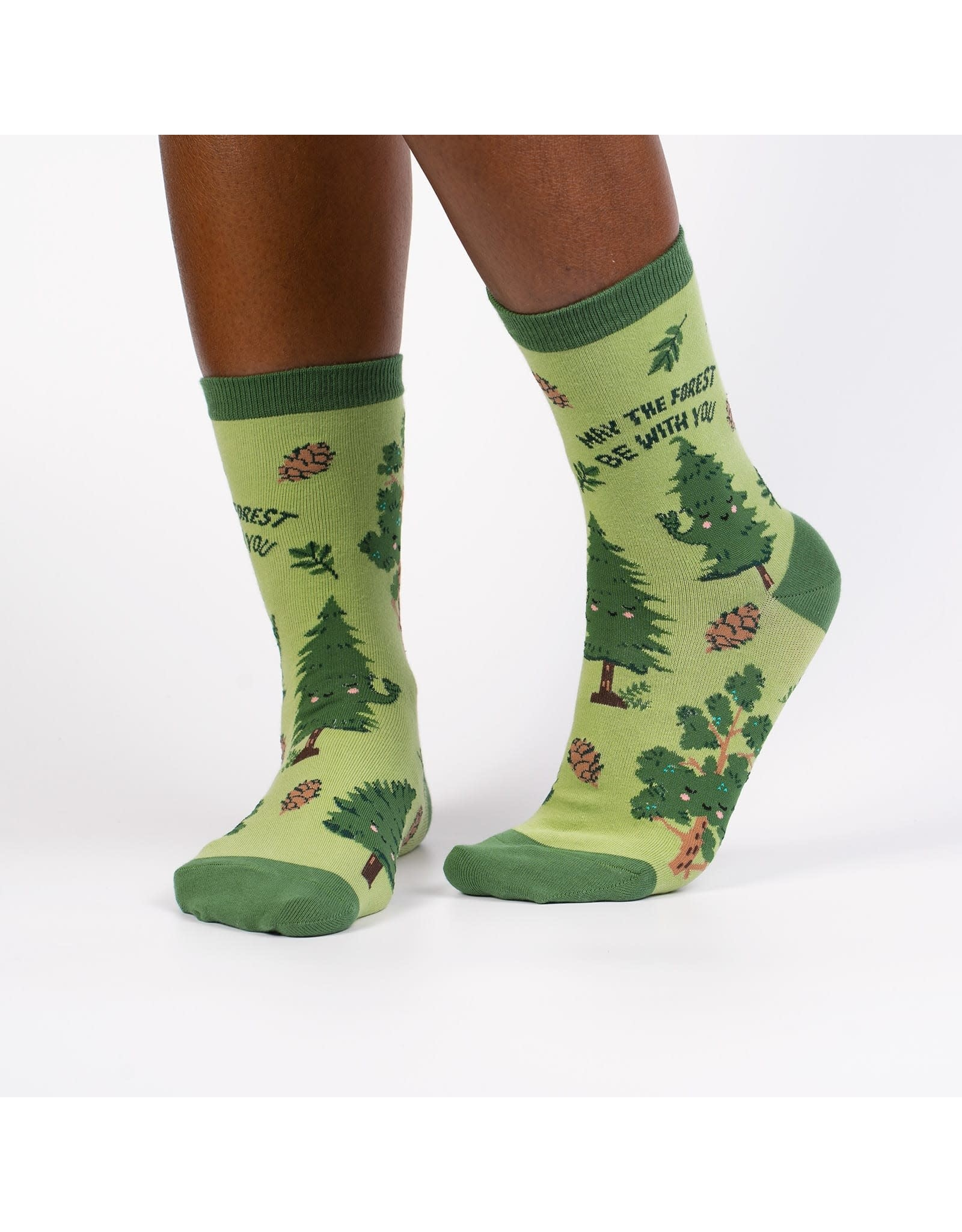 SOCK IT TO ME - Women's May The Forest Be With You Crew Socks