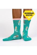 SOCK IT TO ME - Women's Mermaid To Be Friends Crew Socks
