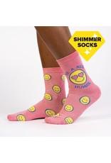 SOCK IT TO ME - Women's Be A Nice Human Crew Socks