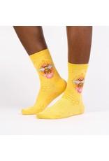 SOCK IT TO ME - Women's Queen Bee Crew Socks