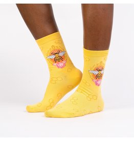 SOCK IT TO ME - Women's Queen Bee Crew Socks