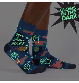 SOCK IT TO ME - Women's You Glow Girl Crew Socks