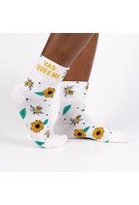 SOCK IT TO ME - Women's Quarter-Turn Yas Queen Crew Socks
