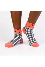 SOCK IT TO ME - Women's Quarter-Turn One In a Melon Crew Socks