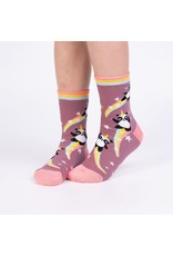 SOCK IT TO ME - Youth Pandacorn Crew Socks