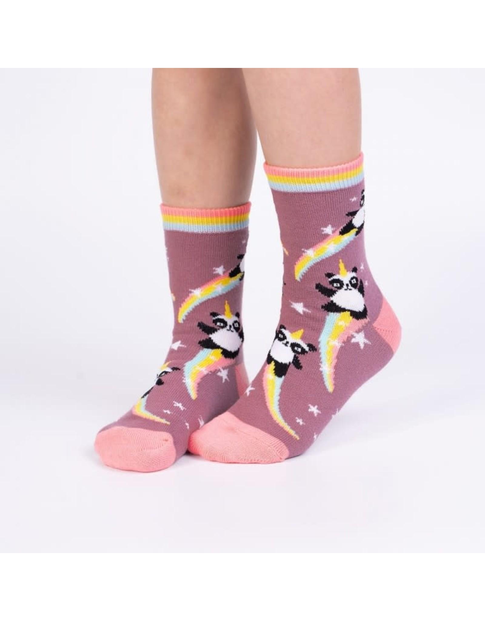 SOCK IT TO ME - Junior Pandacorn Crew Socks