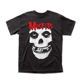 "Misfits ""Red Logo Skull"" T-Shirt"