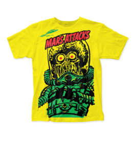 "Mars Attack ""Big yellow Martian"" T-Shirt"