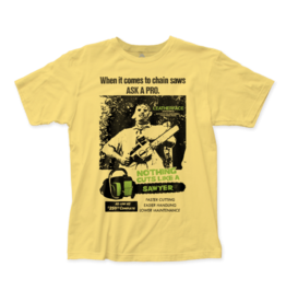 "Texas Chainsaw Massacre ""Cuts like a Sawyer"" T-Shirt"